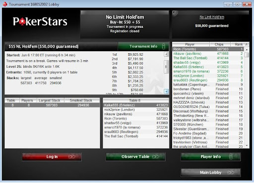 My second big poker tournament victory
