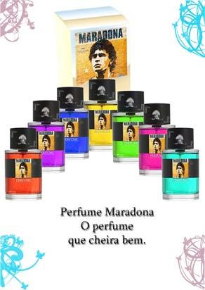banner perfume maradona