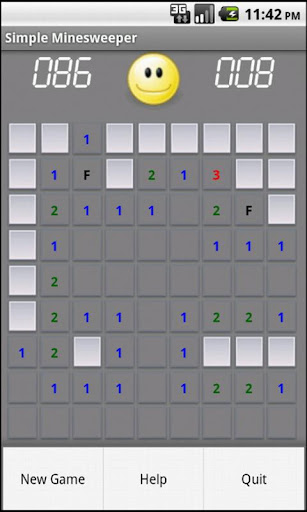 Simple Minesweeper