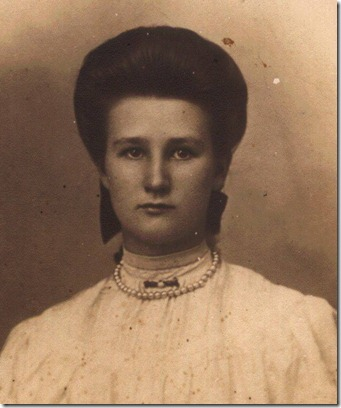 Granny Johnson aged 18