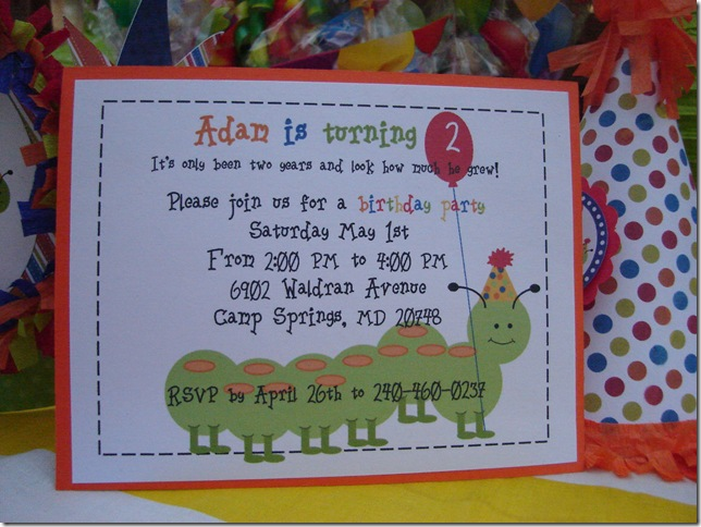 caterpillar party 005