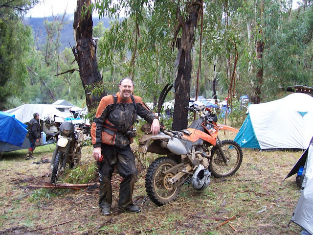 2009 Amtra High Country Ride wet wet wet..