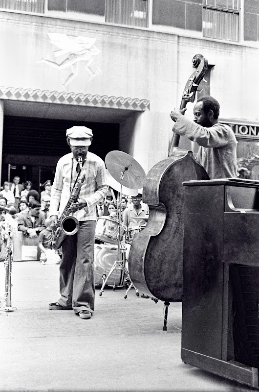 Jimmy & Percy Heath -The Heath Bros. @ Rockerfeller Center NYC - 1978.jpg