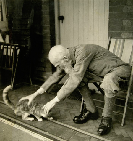 George Bernard Shaw with