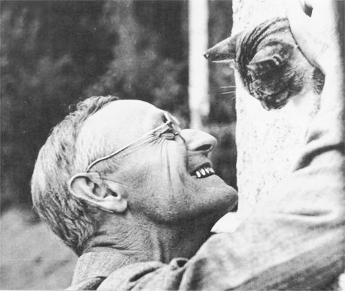 Hermann Hesse with