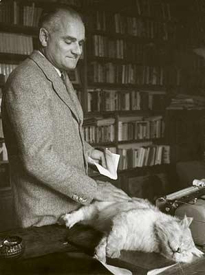 Alberto Moravia with