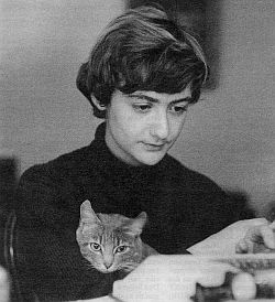 Françoise Sagan with