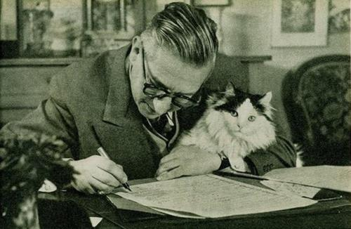 Jean-Paul Sartre with