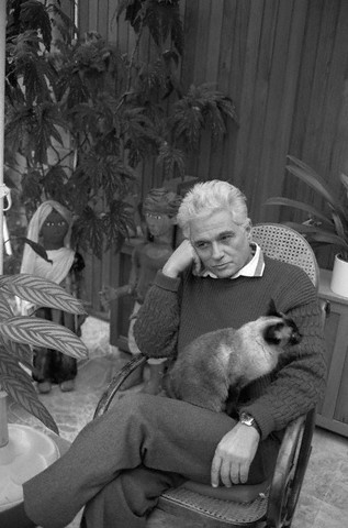 Jaques Derrida with