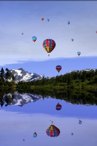 Lakeside Reflections Free