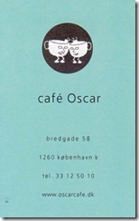 Cafe Oscar - Denmark