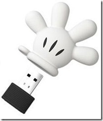 Mickey Mouse Glove USB flash Drive