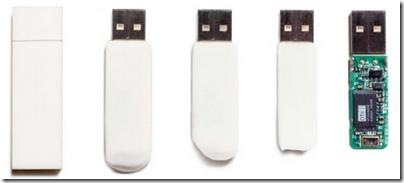 Eraser USB memory stick