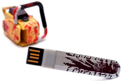Biohazard 5 Chainsaw USB drive