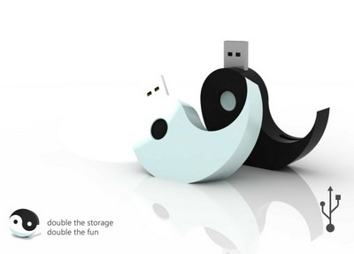 Yin and Yang USB Drive