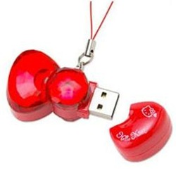 Hello Kitty Ribbon Usb memory stick