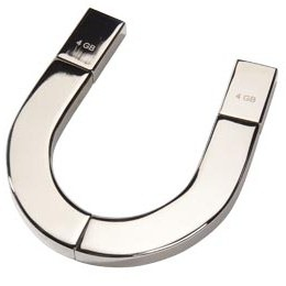 Horseshoe USB flash drive