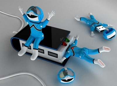 Spaceman USB flash drive