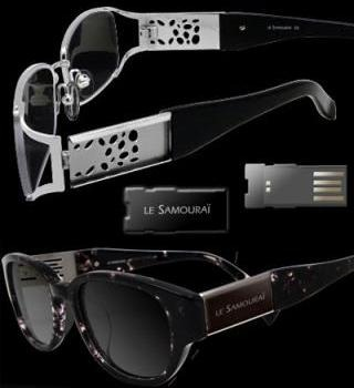 Sunglasses USB flash drive