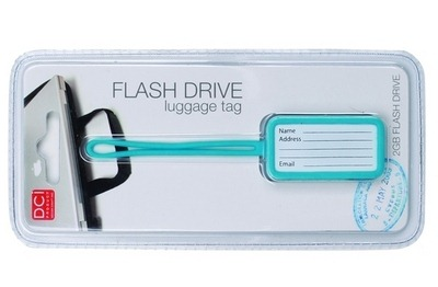 Luggage Tag USB Flash Drive