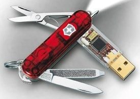 Swiss Army Knife USB Flash Drive
