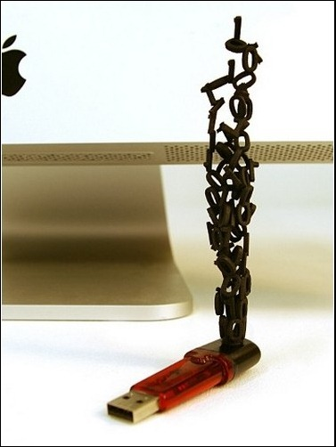 Sculpture USB flash drive