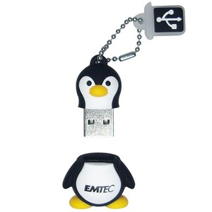 The Aquarium range Penguin USB memory stick