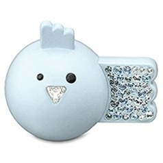 Swarovsky USB bird blue