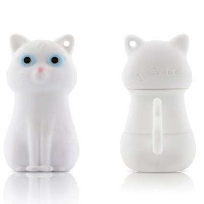 White Cat USB flash drive