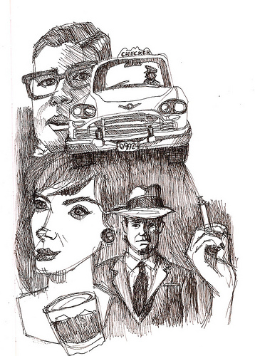 Mad Men fan art sketch