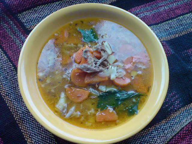 ogonowa zupa