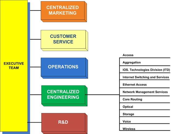 Centralized Organization Structure images