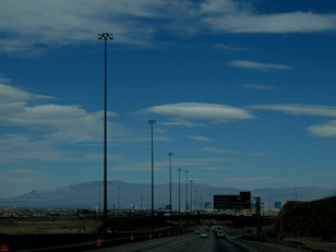 toward Las Vegas