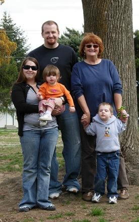 Steven and family