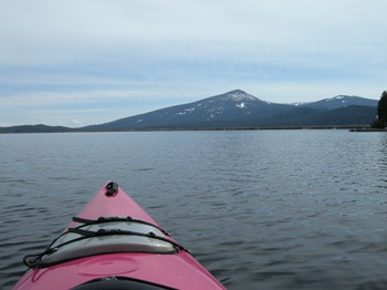 Mount Harriman from Pelican Bay