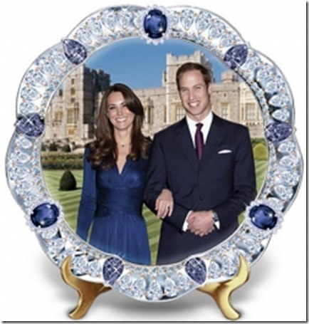 Prince William and Kate Middleton Royal Wedding collectibles 2011
