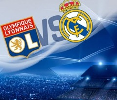 Lyon x Real Madrid