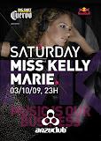 Flyer Miss Kelly Marie - frente