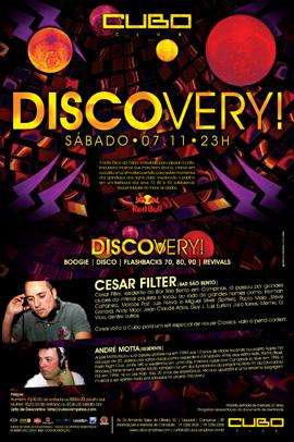 Cubo Club Campinas - Discovery! DJ Cesar Filter