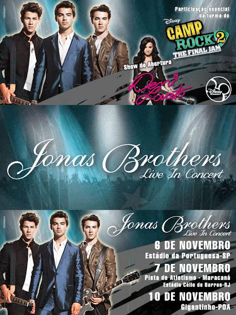 Jonas Brothers no Brasil 2010