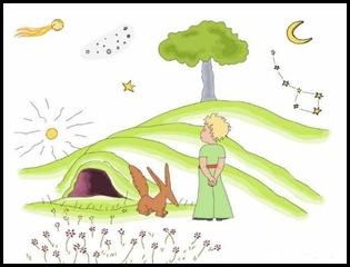 Do livro: O Pequeno Príncipe