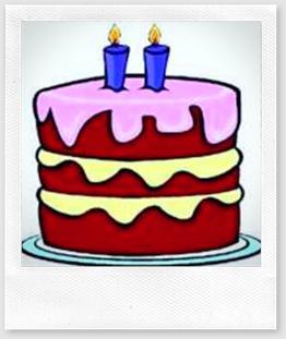 Um bolo e duas velas!