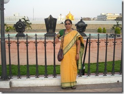 My Aunt at Tirumala
