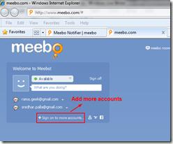 Gmail Notifier & Email Notification: Meebo Notifier