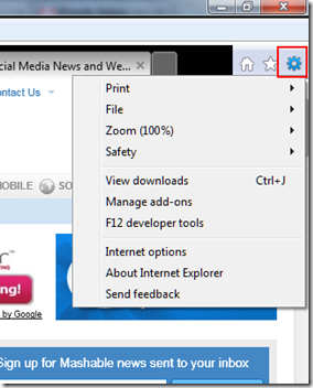 Review of IE9 Features: A New Look