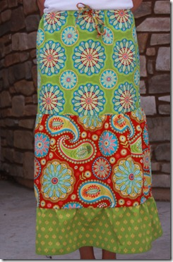 gypsy bandana skirt 002