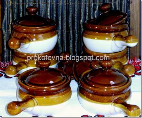 китайские глиняные горшочки