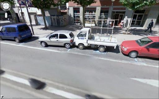 Google Street View flagra acidentes