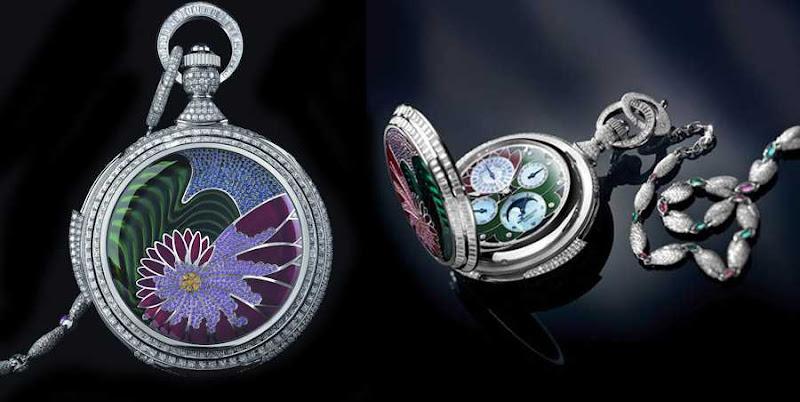 8. Parmigiani Fleurier - Relógio de bolso de Fibonacci