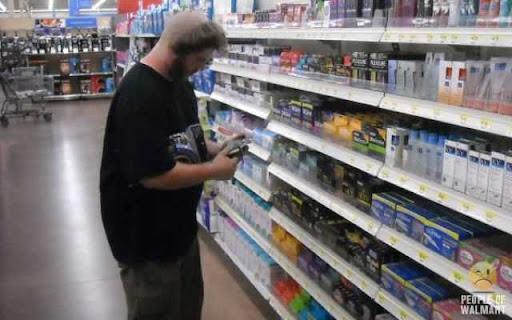 Coisas que você só vê... no Wal-Mart - Parte 6